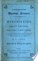 The Myxomycetes of Great Britain