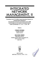Integrated Network Management, II