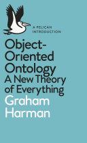 Object-Oriented Ontology [Pdf/ePub] eBook