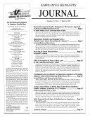 Employee Benefits Journal