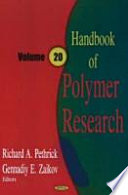 Handbook of Polymer Research Book