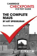 Pdf Checkpoints VCE Text Guides: The Complete Maus by Art Speigelman