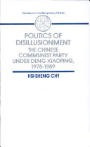 Politics of Disillusionment