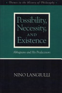 Possibility Necessity and Existence