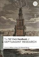 T&T Clark Handbook of Septuagint Research Pdf/ePub eBook