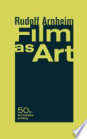 Film as Art