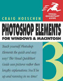 Photoshop Elements 3 for Windows and Macintosh