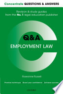 Concentrate Questions and Answers Employment Law  : Law Q&a Revision and Study Guide