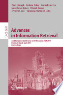 Advances in Information Retrieval Book