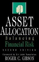 Asset Allocation  Balancing Financial Risk