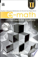 E-math Ii Tm' 2007 Ed.(intermediate Algebra)