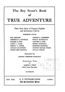 The Boy Scout's Book of True Adventure