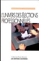 L'univers des élections professionnelles