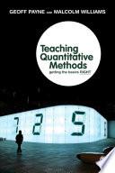 Teaching Quantitative Methods