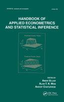 Handbook Of Applied Econometrics And Statistical Inference [Pdf/ePub] eBook