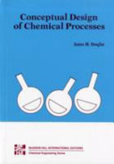 Cover of Conceptual Design of Chemical Processes