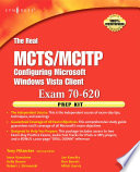 The Real MCTS MCITP Exam 70 620 Prep Kit Book