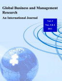 Global Business and Management Research  An International Journal Vol 3  Nos 3   4