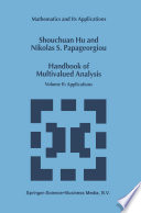 Handbook of Multivalued Analysis