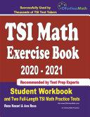 TSI Math Exercise Book 2020 2021