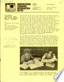 Agricultural Libraries Information Notes