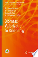 Biomass Valorization to Bioenergy Book
