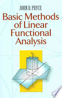 Basic Methods Of Linear Functional Analysis Book PDF