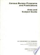 Census Bureau programs and publications