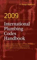 Pdf 2009 International Plumbing Codes Handbook Telecharger