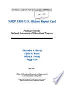 NAEP 1994 U S  History Report Card Book PDF