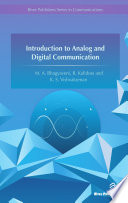 Introduction to Analog and Digital Communication