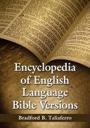 Encyclopedia of English Language Bible Versions