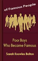 Poor Boys Who Became Famous Pdf/ePub eBook