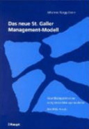 Das neue St. Galler Management-Modell