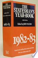 The Statesman s Year Book 1982 83