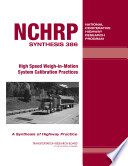 High Speed Weigh in motion System Calibration Practices Book