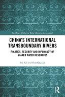 China's International Transboundary Rivers Pdf/ePub eBook