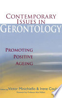 Contemporary Issues in Gerontology