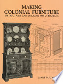 Making Colonial Furniture