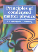 Principles of condensed matter physics /