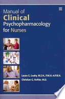 Manual of Clinical Psychopharmacology for Nurses Book