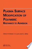 Plasma Surface Modification of Polymers