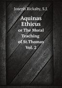Aquinas Ethicus