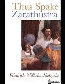 Thus Spake of Zarathustra.