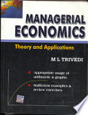 Managerial Economics:Theory & Applicatio