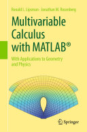 Multivariable Calculus with MATLAB® [Pdf/ePub] eBook