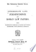 Intermediate Laws