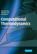 Computational Thermodynamics Book