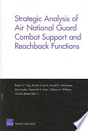 Strategic Analysis of Air National Guard Combat Support and Reachback Functions
