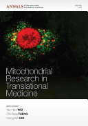 Mitochondrial Research in Translational Medicine  Volume 1201